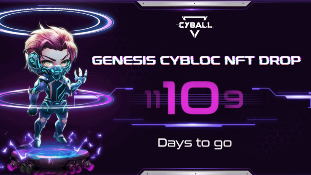 CyBall Genesis NFT Sale Set for October 19th | P2E News